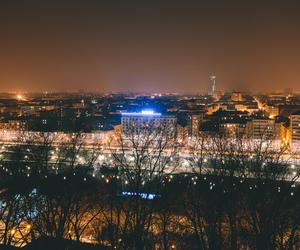 landscape, skyline, and city image