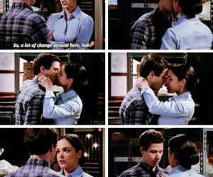 brooklyn nine nine, jake peralta, and amy santiago image