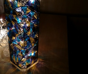 abstract, lights, and reflections image