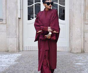 beautiful, fashion, and wine image