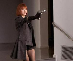 amanda seyfried, in time, and gun image