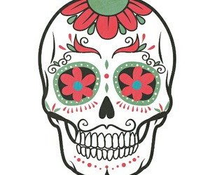 calavera, draw, and tattoo image