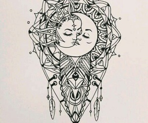 art, draw, and light image