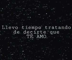 sky, stars, and te amo image