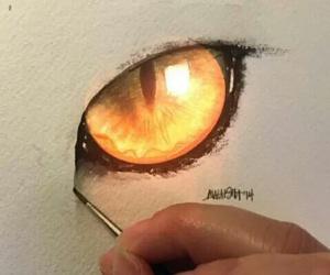 eyes, animal, and art image