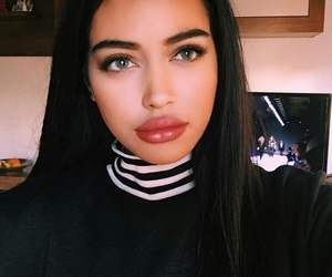 beauty, cindy kimberly, and lips image
