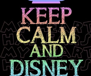 disney and keep calm image