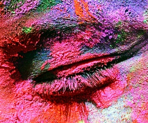 eye, colors, and colorful image