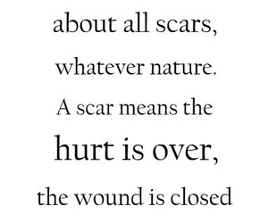 scars, hurt, and nature image