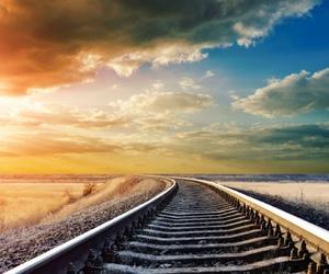 rail, way, and chemin de fer image