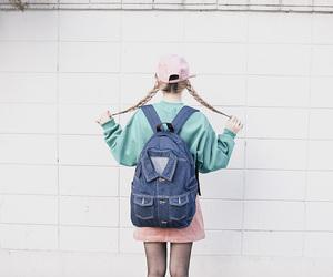 korean fashion, style, and theme image