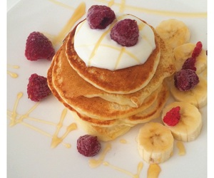 breakfast, lovely, and pancakes image
