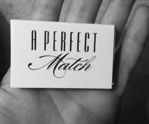 black and white, perfect, and match image