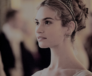 lily james and war and peace image