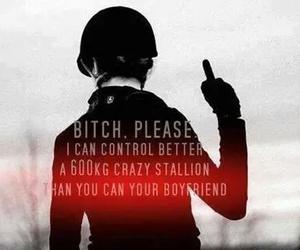 horse, bitch, and boyfriend image