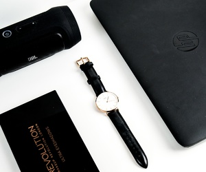 accessoires, black, and laptop image