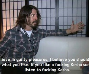 dave grohl, kesha, and foo fighters image