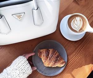 bag, coffee, and food image