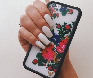 nails, case, and fashion image