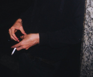 cigarette and hands image
