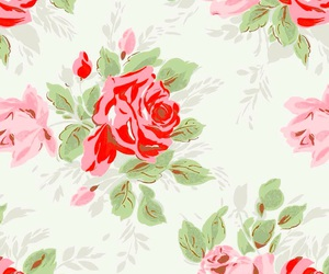 flowers, floral, and pink image