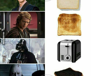 anakin, star wars, and bread image