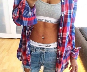 Calvin Klein, jeans, and outfit image
