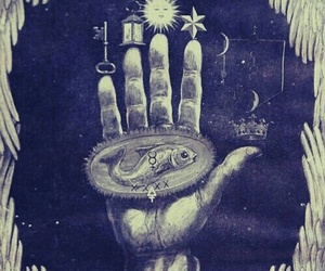 hand, Occultism, and symbolism image