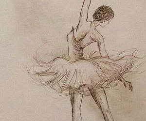 art, picture, and ballet image