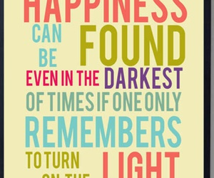 Darkness, true, and happiness image