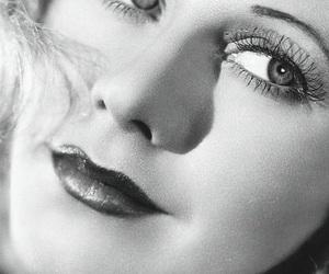 actress, b&w, and beautiful image