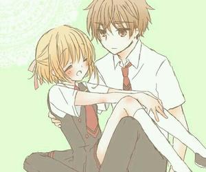 anime, couple, and cardcaptor sakura image
