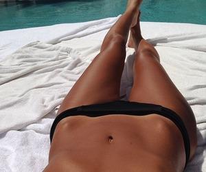 summer, body, and bikini image