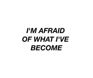 quotes, aesthetic, and afraid image
