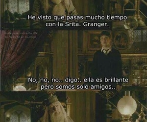 harry potter, hermione granger, and profesor image
