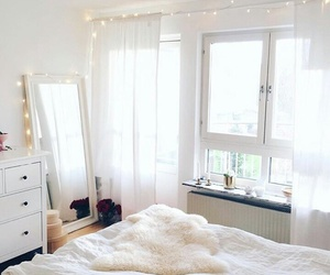 room, decor, and white image