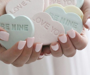 be mine, candy, and love you image