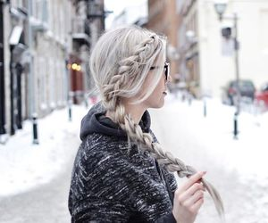 blond, pretty, and cute image