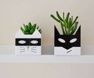 cats, etsy, and home decor image