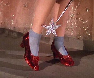 Wizard of oz, dorothy, and shoes image