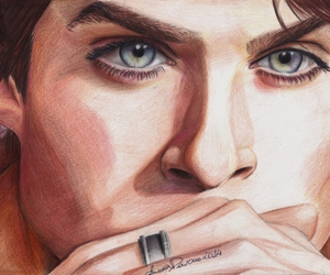 blue eyes, colour, and draw image