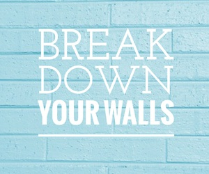 quotes, wall, and love image