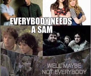 Sam, supernatural, and twd image