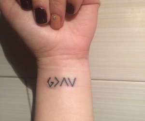 god is greater and than ups & downs image