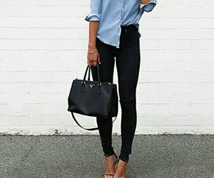 fashion, tres, and girl image
