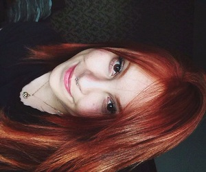 ginger, hair, and redhair image