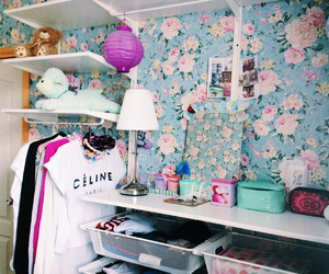 celine, girl, and room image