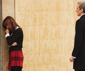 doctor who, clara oswald, and peter capaldi image