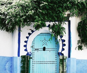 blue, door, and indie image