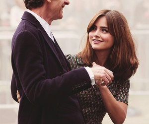 clara oswald, colepaldi, and doctor who image